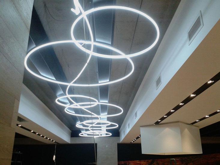 Illuminazione tubo led